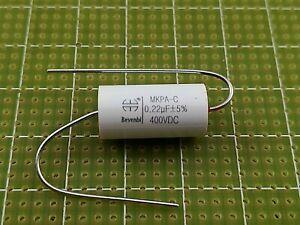 10 x 220nF Assiale Condensatore a film in polipropilene metallizzato 630V ± 10/%
