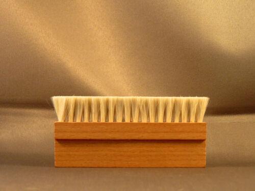 Wood Anti Static Goat Goat/'s Hair Record Brush Deep Cleaner Clean Vinyl Album
