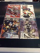 MARVEL COMICS INHUMANS- WAR OF KINGS #1-6, SAGA, WHO WILL RULE (MS125)