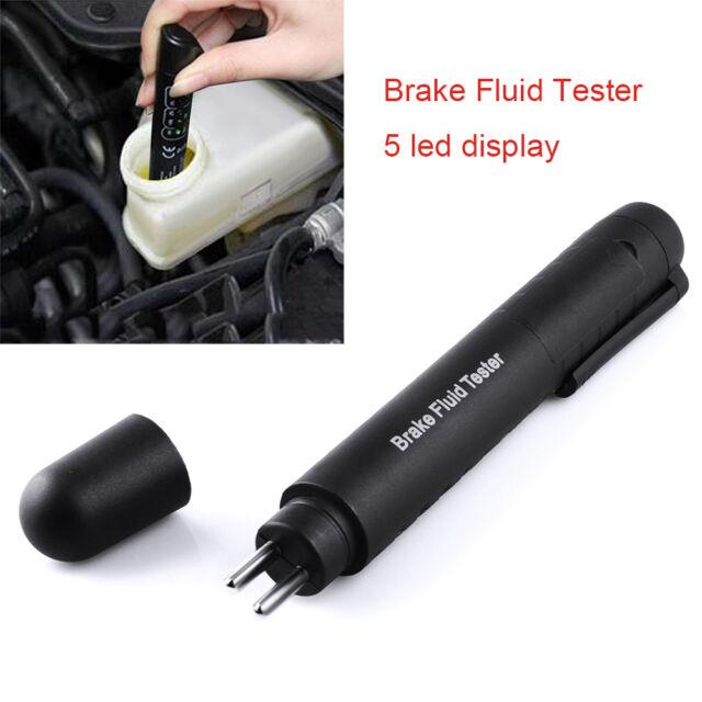 Brake Oil Fluid Tester LED Moisture Liquid Tool Car Vehicle Test Indicator Pen