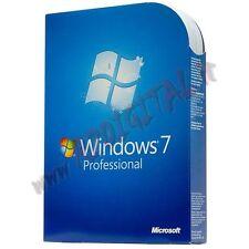 WINDOWS 7 PROFESSIONAL DVD PACK ITA ADESIVO PRO SEVEN 64 BIT ORIGINALE SOFTWARE