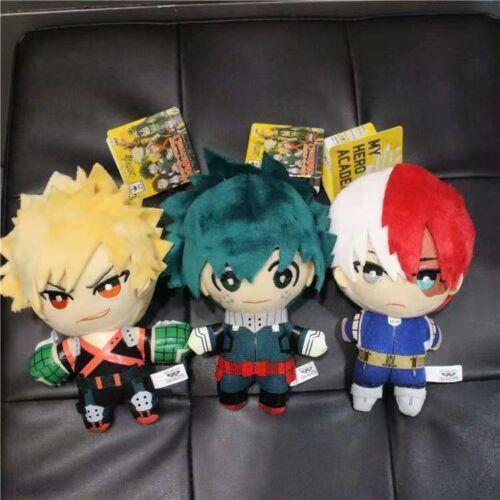 My Boku no Hero Academia Izuku Bakugou Plüsch gefüllte Spielzeugpuppen Toy Dolls
