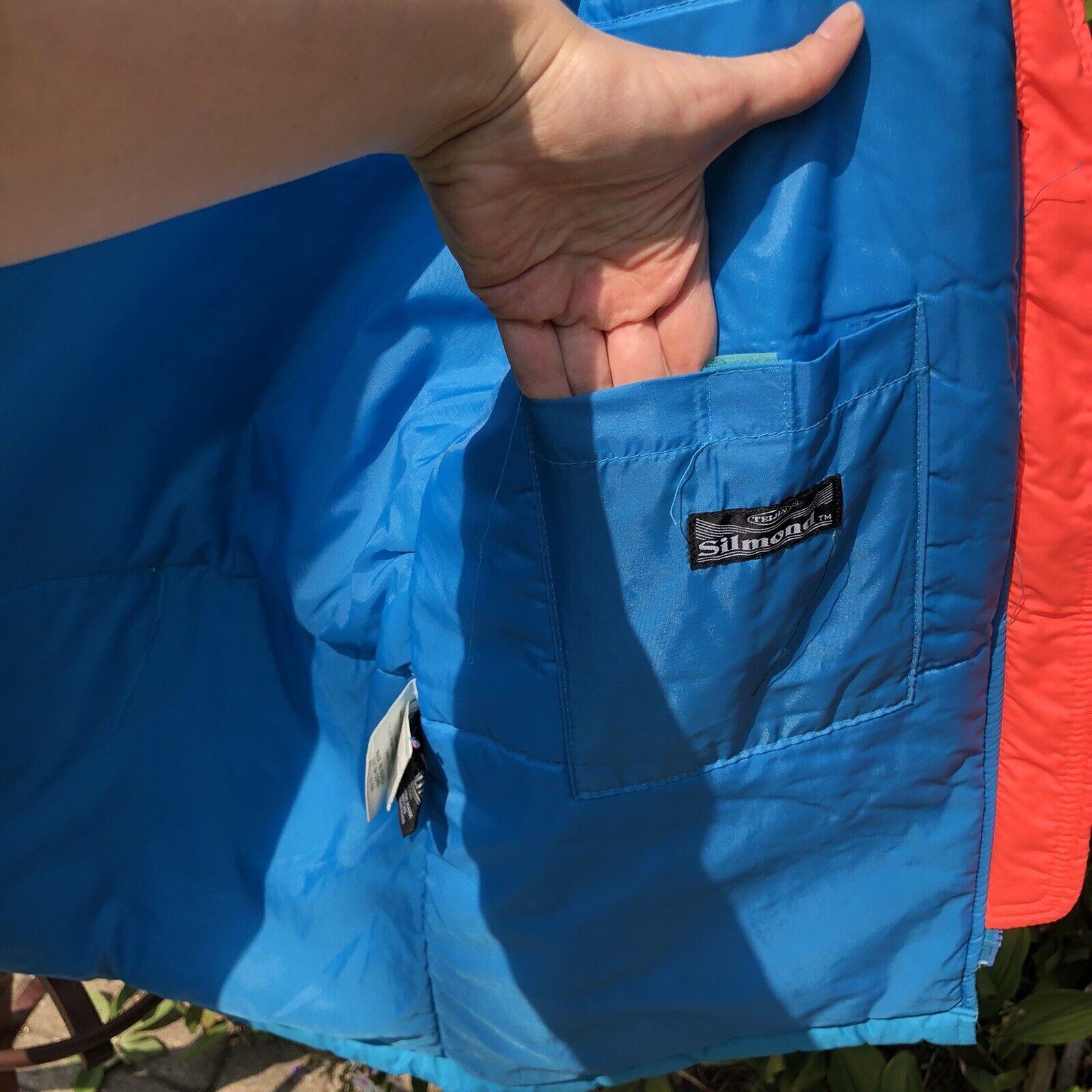 Vintage 90s Ski Multi-color Color Block Jacket Co… - image 9