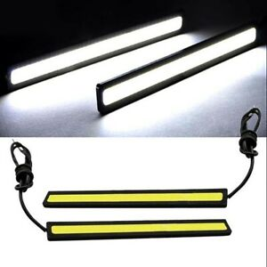 Lampe-LED-COB-Fog-Super-12V-Bright-for-Driving-Lights-DRL-Car-White-2x-Nice