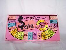 Vintage 1979 SALE A Consumer Math Game #4532 Creative Teaching Associates