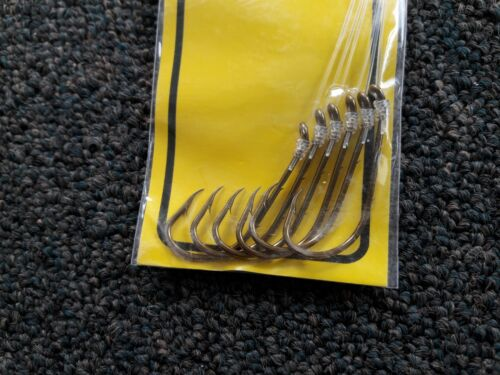 Made with Mustad Hooks FIN STRIKE Leader//Hook Rigs