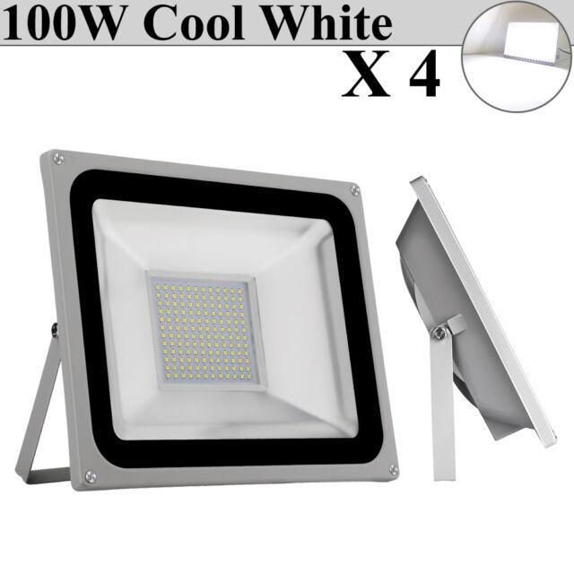 20x 100w Led Flood Light Cool White Outdoor Landscape Spot Lamp Floodlights Ip65