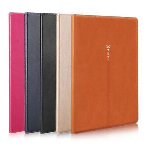For-Apple-iPad-Air-2-Folio-Genuine-Leather-Flip-Smart-Wake-Sleep-Stand-Case