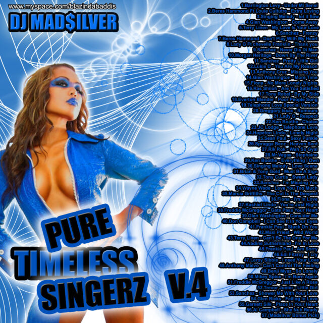 DJ MADSILVER PURE TIMELESS SINGERS VOL 4 REGGAE LOVERS ROCK MIX CD