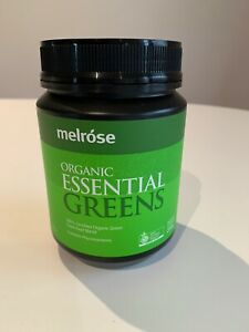Melrose-Organic-Essential-Greens-Powder-200g-NEW-Perfect-condition-RRP-31