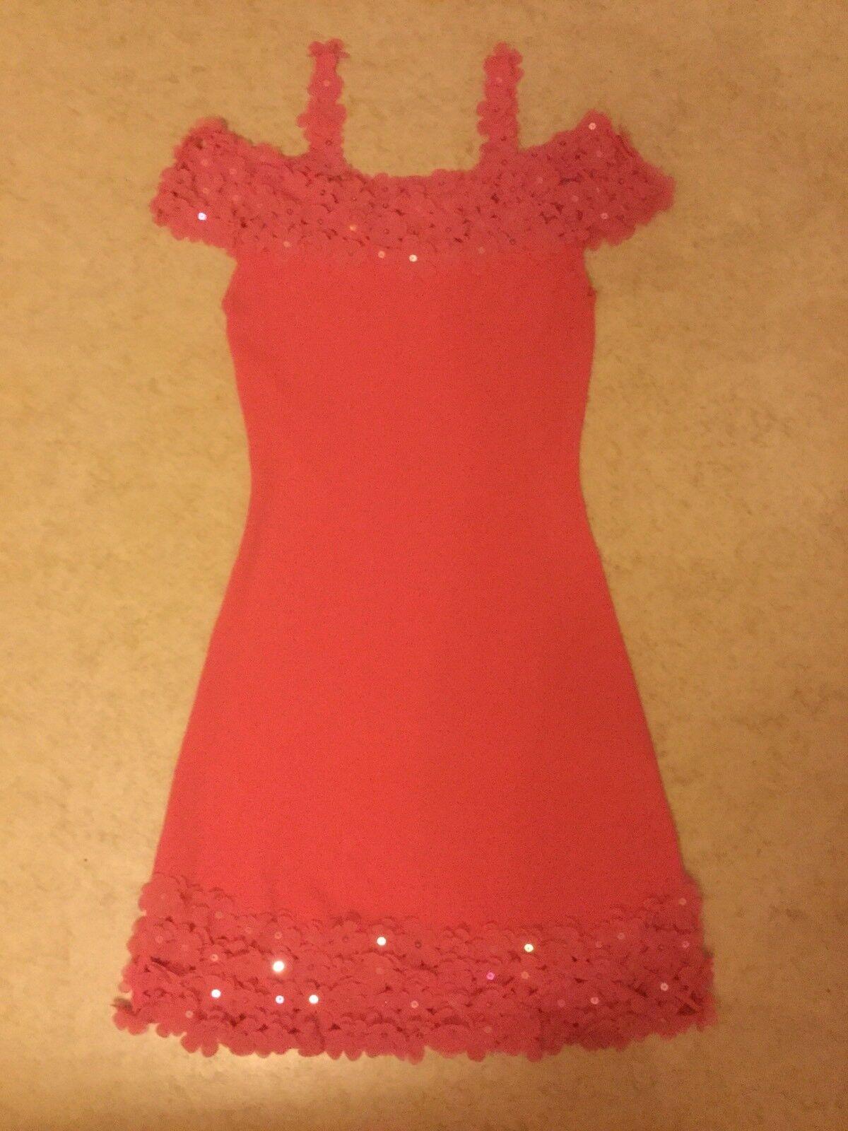 Leo Leo Leo Guy Kleid Abendkleid Damenkleid Gr.M Rosa 6d668a