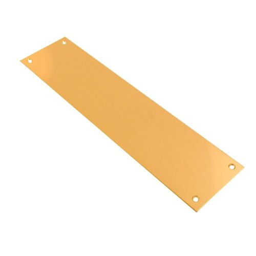 Push Pull Finger Plate Door Push Plates Stainless Steel Polished Brass Pub Doors