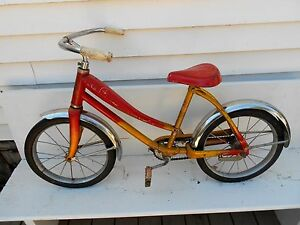 43f62a400ec Image is loading Vintage-BF-GOODRICH-CHALLENGER-Coaster-BICYCLE-SCHWINN-1950 -
