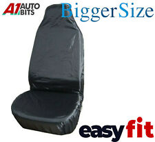 SKODA FABIA Heavy Duty Black Waterproof Car Seat Covers Front Pair