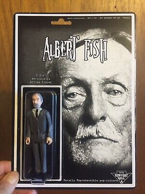 Albert Fish action figure Straight To Hell Toyco murderbelia truecrime custom