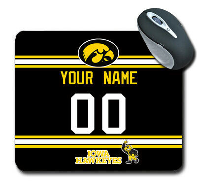 Iowa Hawkeyes Mouse Pad with Wrist Rest