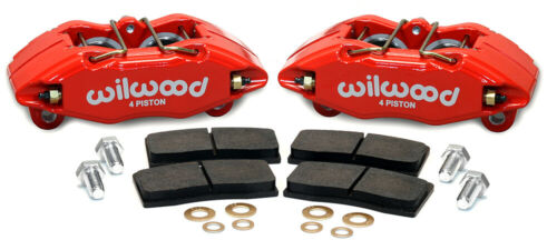 Honda Accord Civic Wilwood Forged DPHA Front Caliper Kit Red For Acura Integra