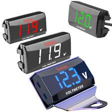 Dc 12 150v Led Digital Voltage Panel Meter Voltmeter For Motorcycle Car 12v 24v