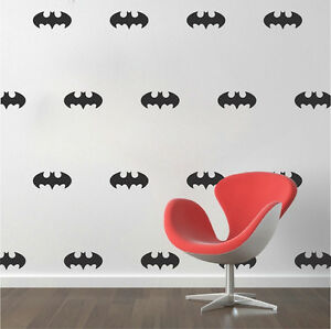Image Is Loading Batman Wall Decal Stickers Batman Wallpaper Vinyl Batman
