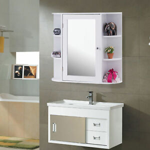 Image Is Loading Bathroom Vanity Mirror Medicine Cabinet Wall Mount Modern