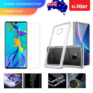 Case-Cover-Tempered-Screen-Protecter-for-Huawei-Mate20-P20-30-Pro-Lite-Nova3i-4E