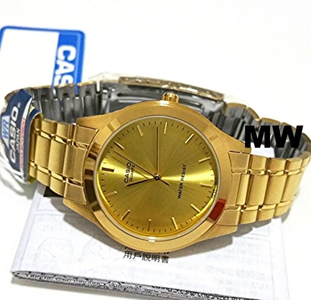 NEW Casio LTP1128N-9A Women's Gold Tone Metal Fashion Casual Analog Quartz Watch