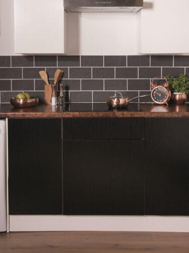 6€//m² Möbelfolie Blackwood Glanz Selbstklebefolie Folie d-c-fix Fototapete Küche