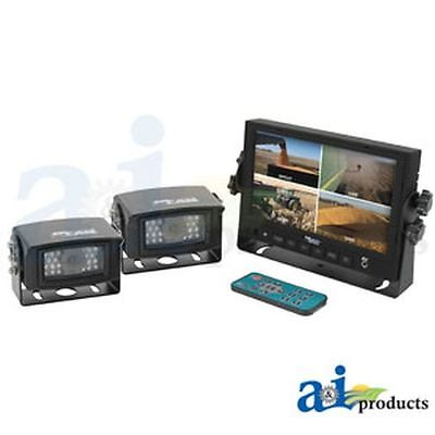 CabCAM Video System; Touch Button Includes 7 Monitor and 1 Camera