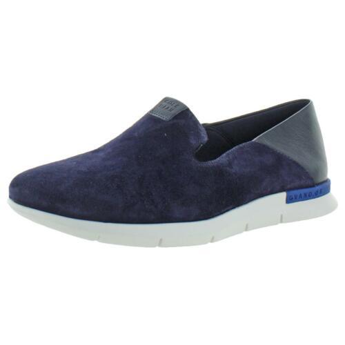 BHFO 5396 Cole Haan Womens Grand Horizon Blue Flats Shoes 6.5 Medium B,M