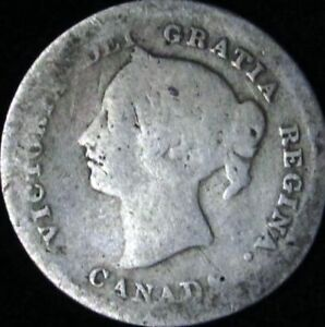 1872-H-AG-Details-Canada-Silver-5-Cents-KM-2