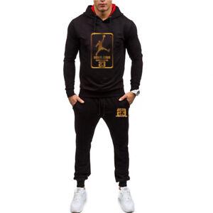 NEW-Mens-Michael-Air-Legend-23-Jordan-Tracksuit-Hoodie-amp-Pants-Men-Outwear-Cool