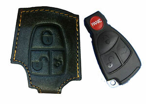 Mercedes Benz Car Key 1000% Leather Case For Remote All S Series 1 year warranty