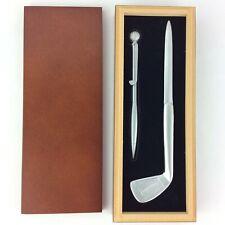 Arthur Court Elephant Letter Opener  Aluminum  New In Box !!!