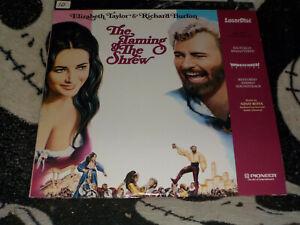 The-Taming-Of-The-Toporagno-Pioneer-se-Widescreen-Laserdisc-Ld-Ordini