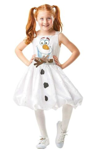 Filles Diseny Frozen 2 Olaf Air Motion Robe costume robe fantaisie