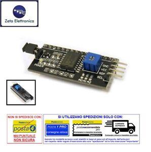 MODULO-IIC-I2C-ADATTATORE-INTERFACCIA-PER-DISPLAY-LCD-1602-SERIALE-ARDUINO-ECC