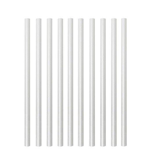 Deckorators 29-in White Round Aluminum Balusters - 10 Pack