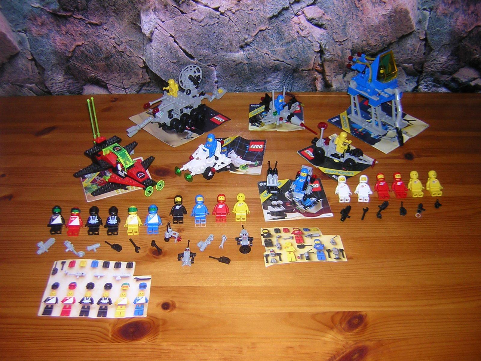 (E13 2) Lego Clasic Legoland Space Ba