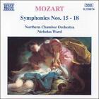 Mozart: Symphonies Nos. 15-18 (CD, Sep-1995, Naxos (Distributor))