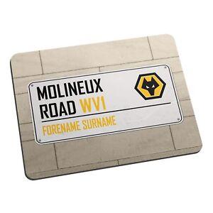 Wolverhampton Wanderers F.C - Personnalisé Tapis De Souris (rue signe)  </span>