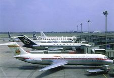 Iberia Airways McDonnell Douglas DC-9-32 EC-BQY at London Heathrow UK Postcard