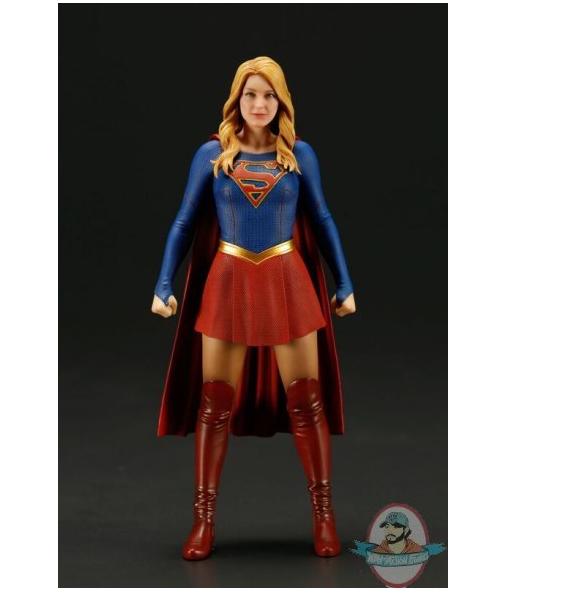 Maßstab 1  10, dc supergirl tv supergirl artfx + statue kotobukiya