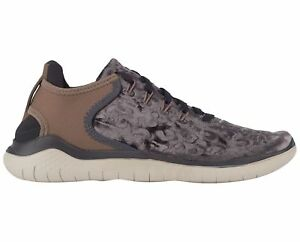 Details about Nike Free RN 2018 Wild Velvet Womens AQ0563 020 Grey Mink Brown Shoes Size 8.5