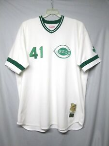 separation shoes 0ea36 0cce1 Details about MLB Cincinnati Reds Tom Seaver Mitchell & Ness St. Pat's  Jersey Size 5XL
