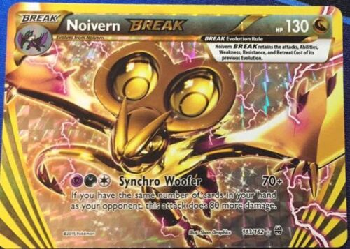 NOIVERN BREAK 113//162 Pokemon TCG XY BREAKTHROUGH