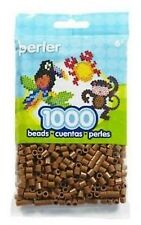 1000 Perler Light Brown Color Iron On Fuse Beads: 80-19021