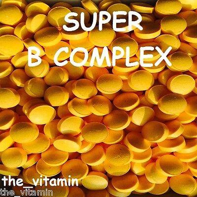 VITAMIN SUPER B COMPLEX  120 Tablets  one per day  (L)