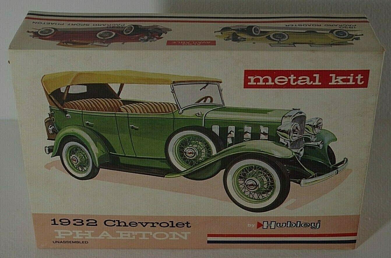 ヒュースリー1932シボレーフェイトン車金属キットビンテージオリジナルボックスNMの条件