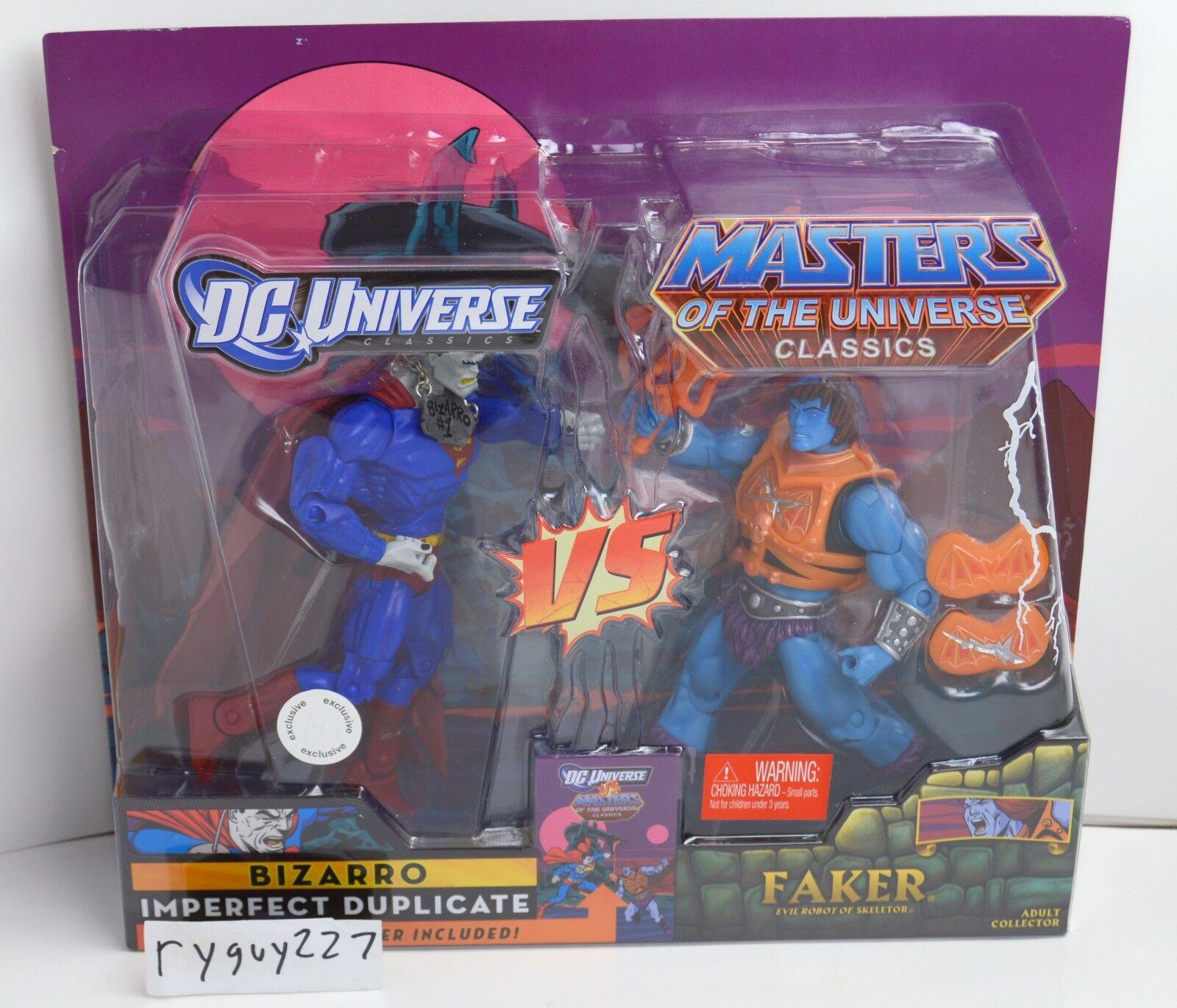 MOTUC, Faker Faker Faker vs Bizarro, MOC, sealed, Masters of the Universe Classics, MISB a1def6