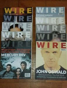WIRE-MAGAZINE-BACK-ISSUES-210-219-3-99-Each-Free-Postage-You-Choose